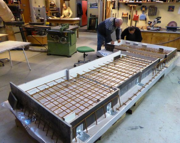 beton blandingsforhold fundament