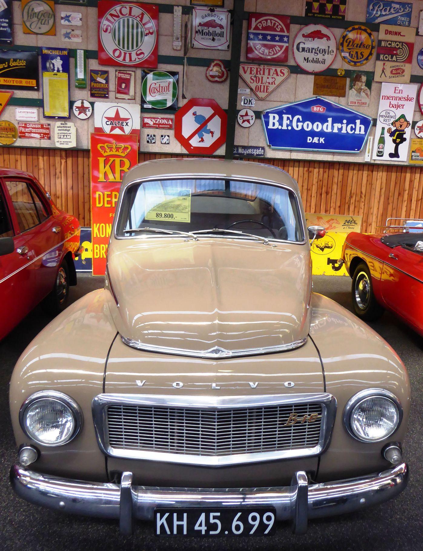 Volvo PV 544 1,8 årgang 1962 til en pris af 89.800 kr.
